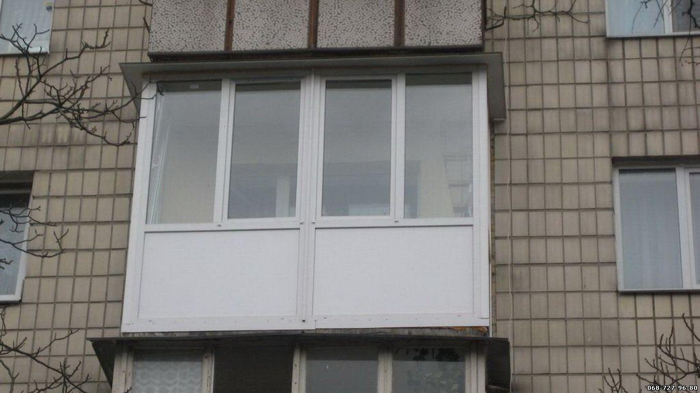 Фото: балконы из металлопластика (французские.). окна, двери.