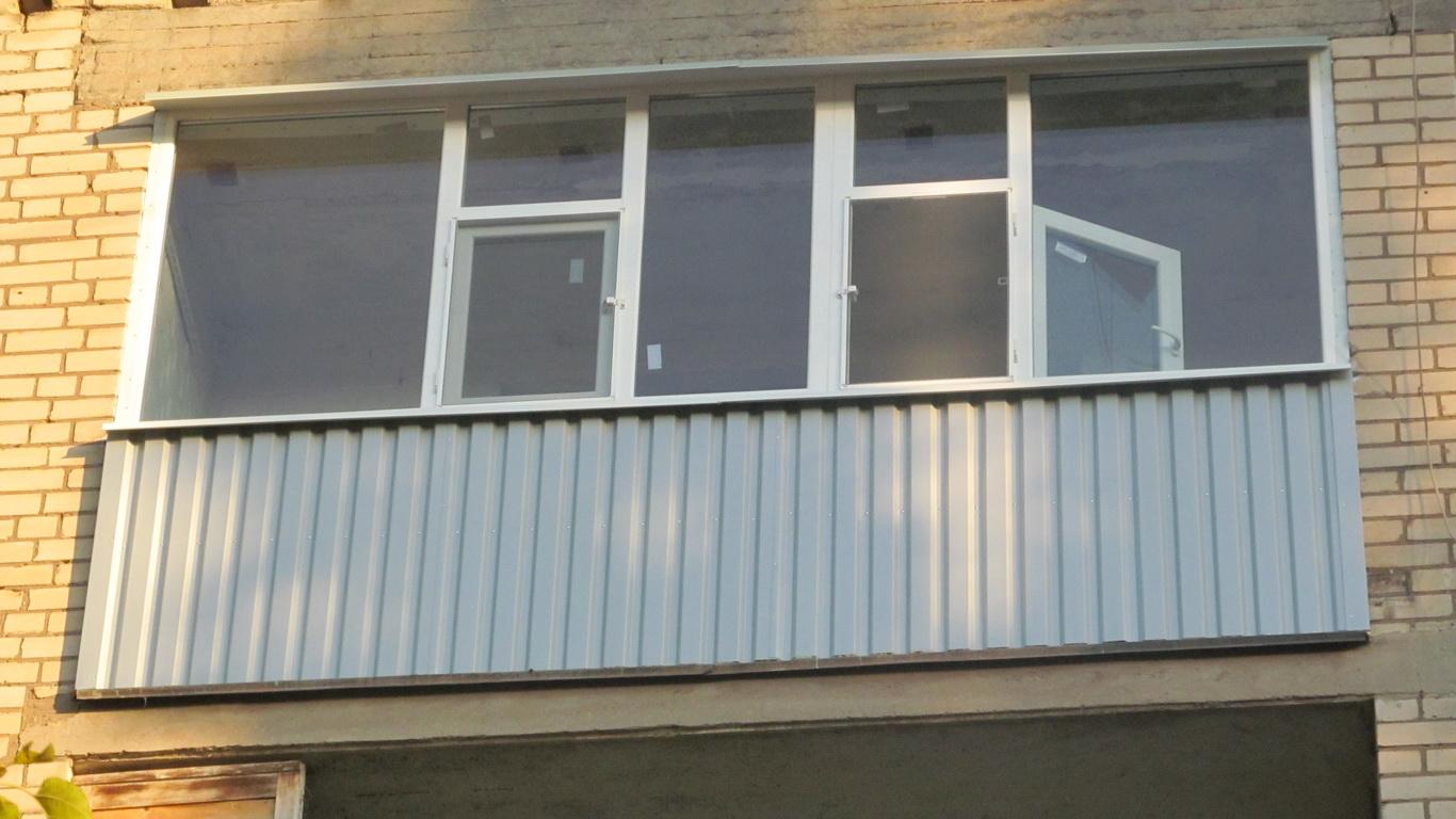 Остекление балконов и лоджий под москве. - она как они работ.